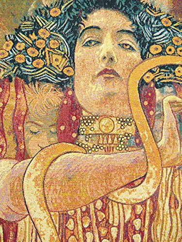 Hygeia by Klimt Italian Tapestry Wallhanging
