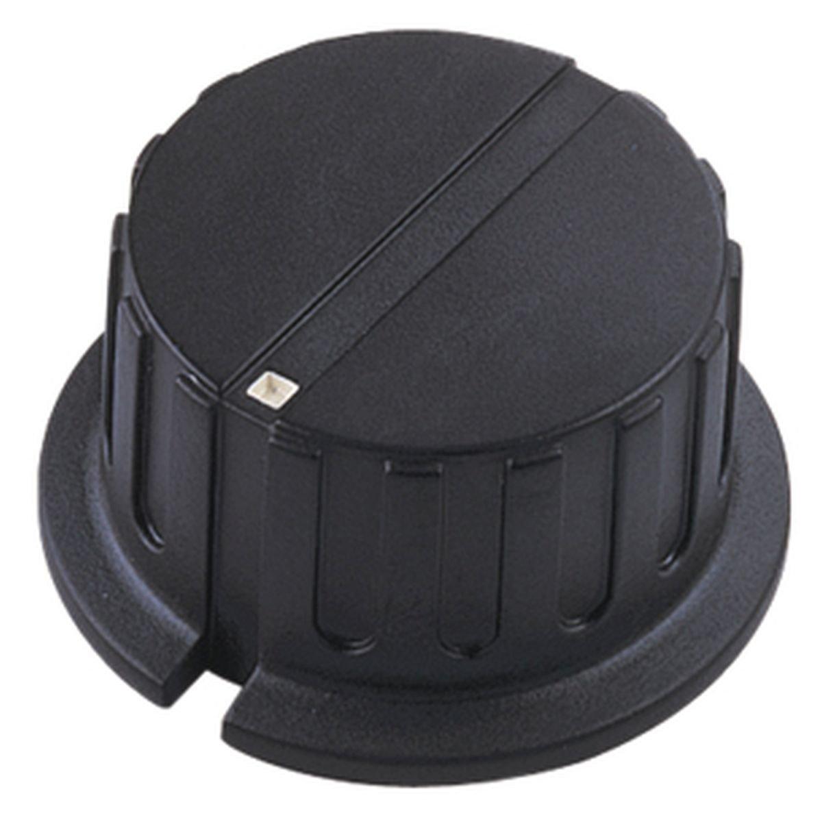 Pointer Knob, Black Electrovision