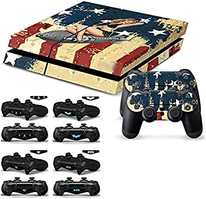 Amazon.com: soondar Pieles PS4 calcomanías de vinilo (Sexy ...
