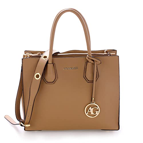 5c23313f59 ANNA GRACE Designer Handbags For Women Large Tote Bags Faux Leather  Celebrity Style Shoulder Bag
