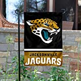 Jacksonville Jaguars Double Sided Garden Flag