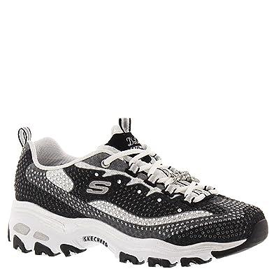 1bae8f5b22ed Skechers Women s D Lites Diamonds are Forever Sneaker