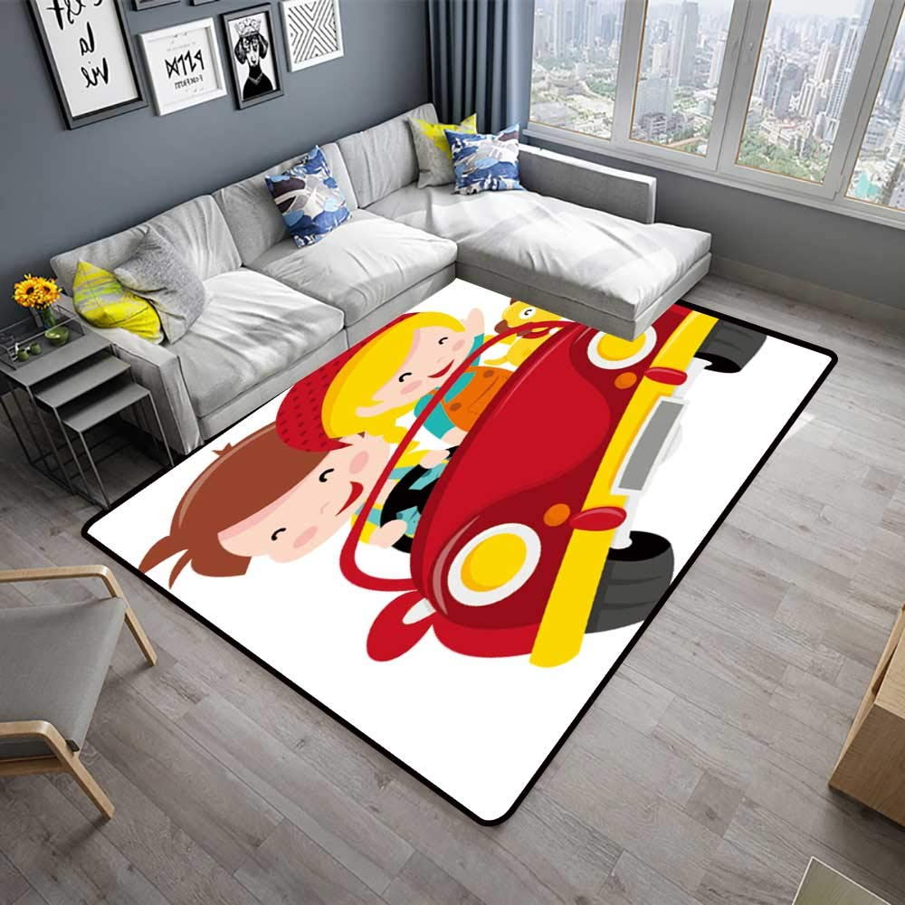 Cool Amazon Com Silky Smooth Bedroom Mats A Cartoon Two Kids Boy Download Free Architecture Designs Viewormadebymaigaardcom