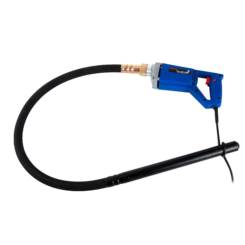 Chrisun Vibreur à Béton 800W Vibreur à Béton électrique Aiguille Vibrante Avec Tube De 1.5 Vibreur Pour Béton à Main (Vibreur à Béton)