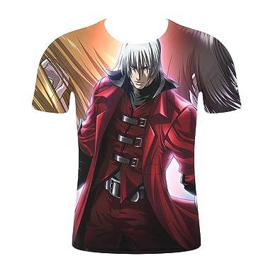 JXKEF 3D Camiseta Impresora Animado Juego De Película Personajes ...