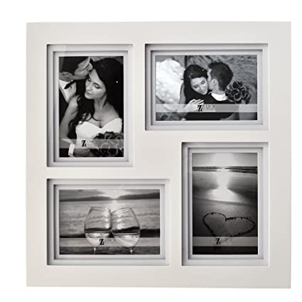Amazon.com - UMICAL 4 4x6 Picture Frame Collage Wooden Wedding Photo ...