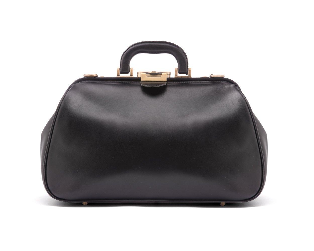 SAGEBROWN Black Gladstone Doctors Bag