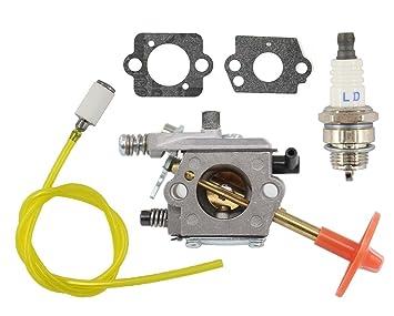 NUEVO Carburador Bujía Gasolina Filtro para Stihl libre Schneider FS160 FS180 FS220 fs280 fs290 Motor Sense Walbro WT de 223 Zama VGN-C1S de S3 4119 120 ...
