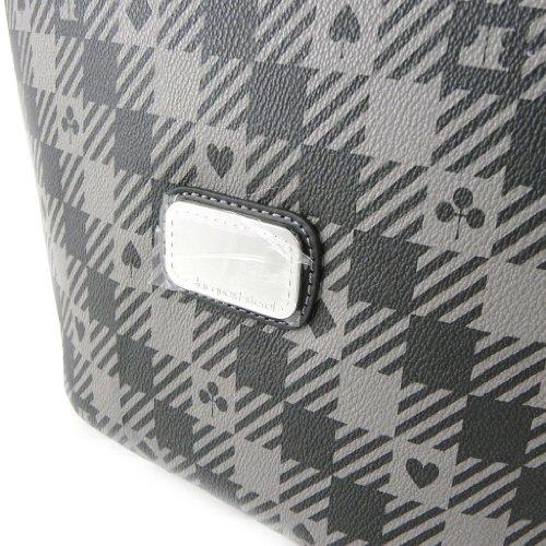 Sacca a tracolla borsa Jacques Esterel grigio scuro.