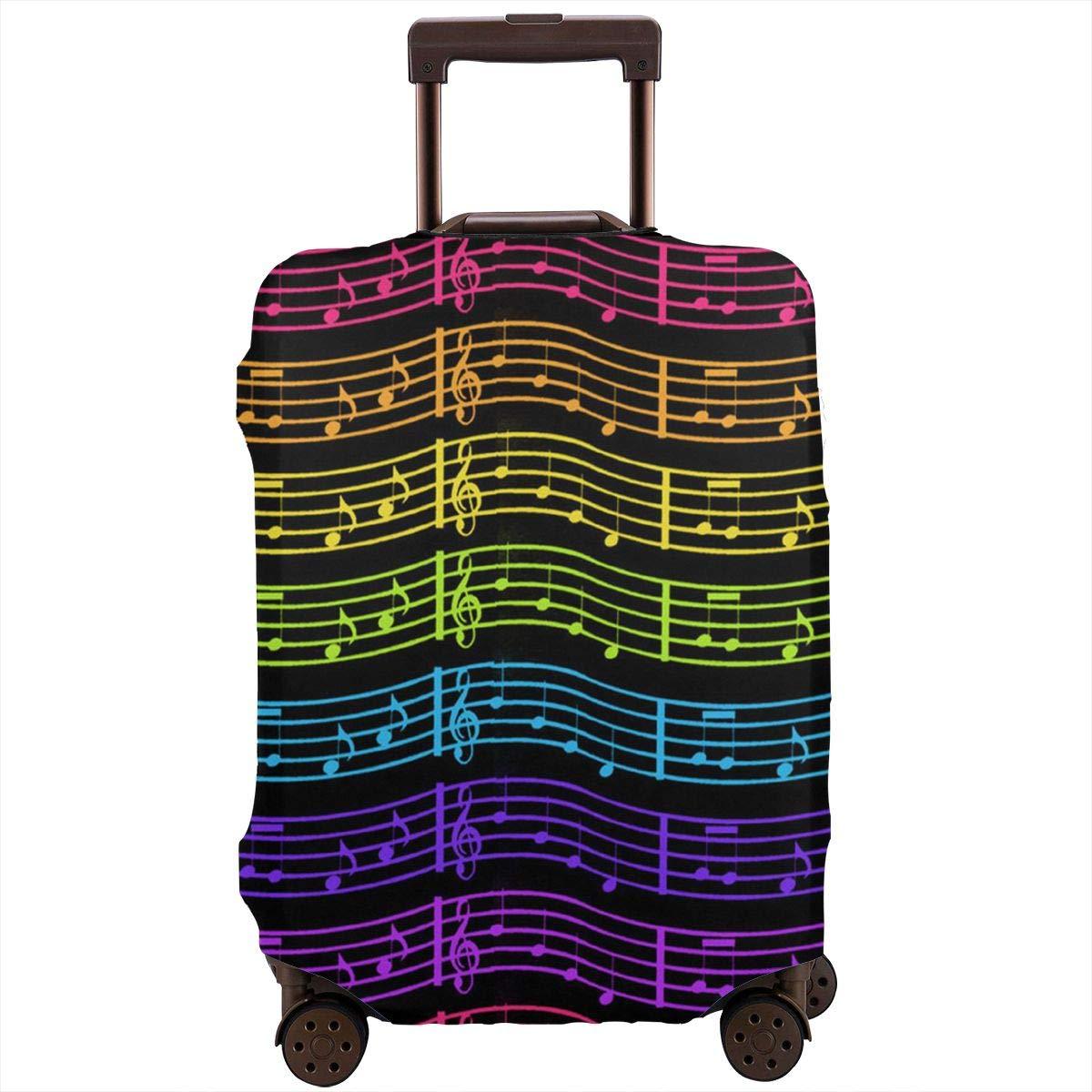 Amazon.com: Coloridas fundas para equipaje de viaje, diseño ...
