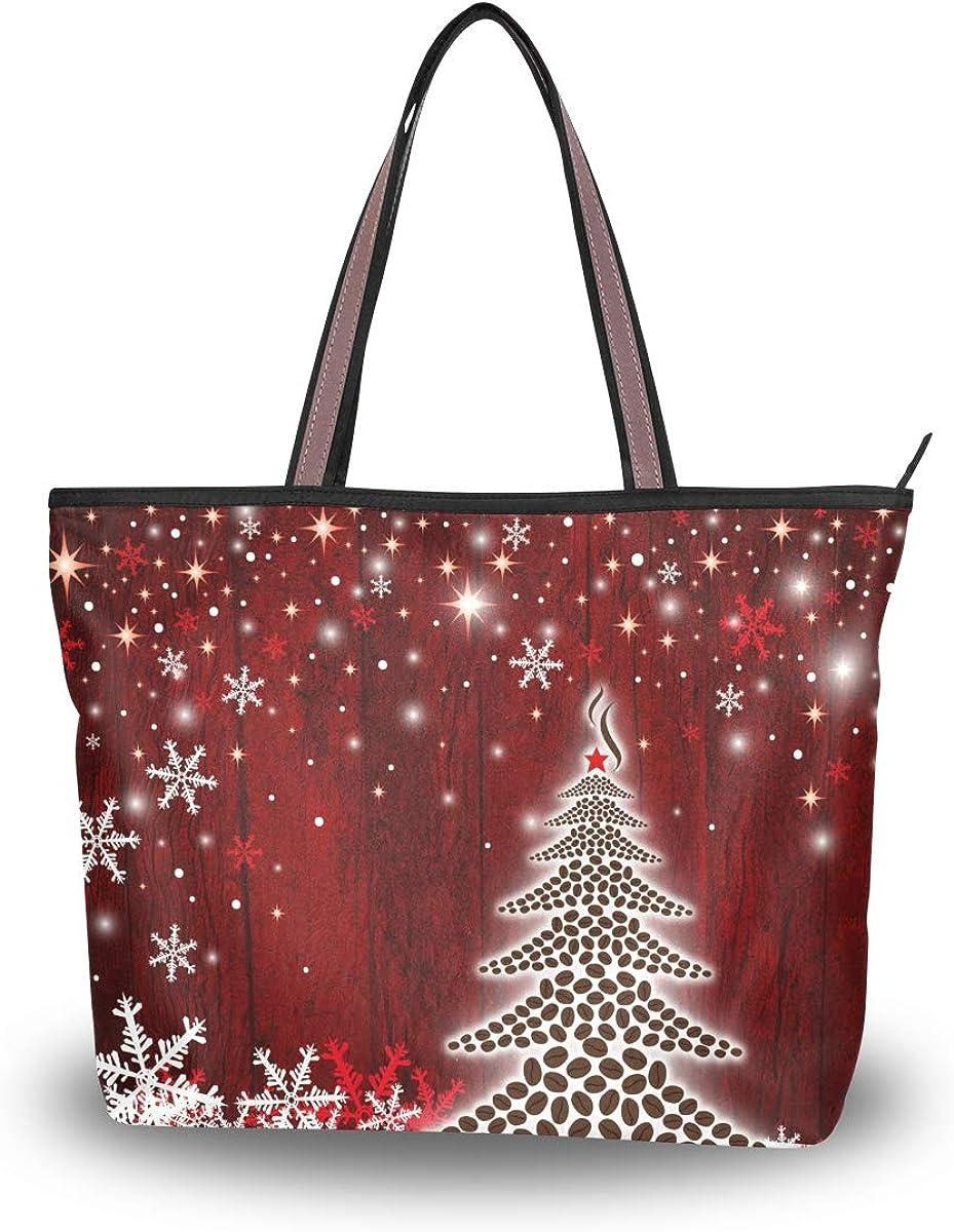 Women Shoulder Bag Large Satchel Handbag Tote Bags Purses Work Bag Ladies Zippered Weekend Shopping Bag