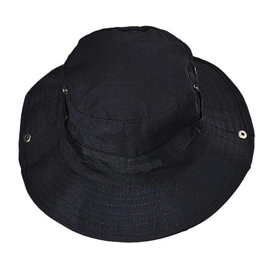 Funic Clearance Sale Women Mens Cowboy Hats Outdoor Climbing Hunting  Fishing Wide Cap Brim Sun ce499bc465a