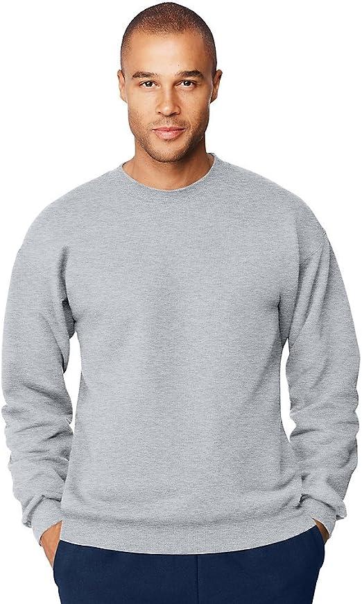 Hanes Mens 9.7 oz. Ultimate Cotton 9010 Fleece Crew(F260)