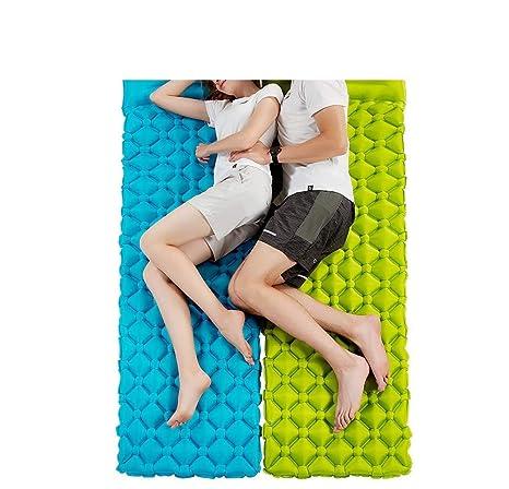 CHLXI Colchoneta autoinflable con colchón Inflable para Dormir ...