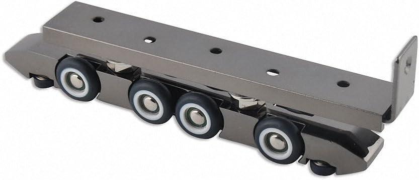 Muada 8 ruedas sin marco deslizante polea rodillos de perchas para ...