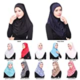 Afco Women Muslim Islamic Long Hijab Turban Head