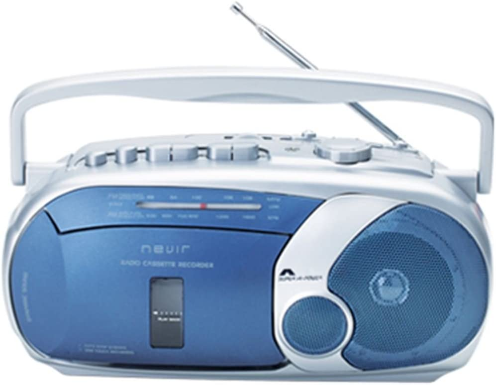 Nevir NVR416TAZUL - Radio cassette grabador, color azul: Amazon.es ...