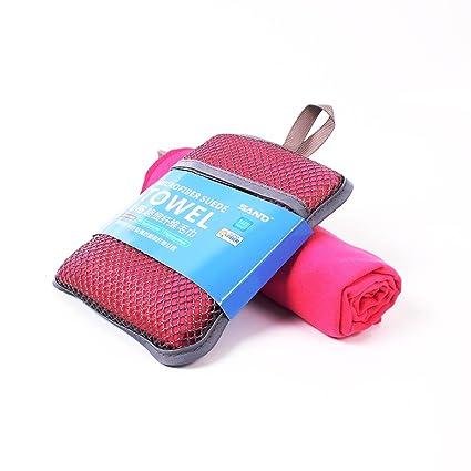 Jiayangzi Toalla de Microfibra de Secado rápido para Deportes y Viajes, 29.5 Pulgadas de Largo