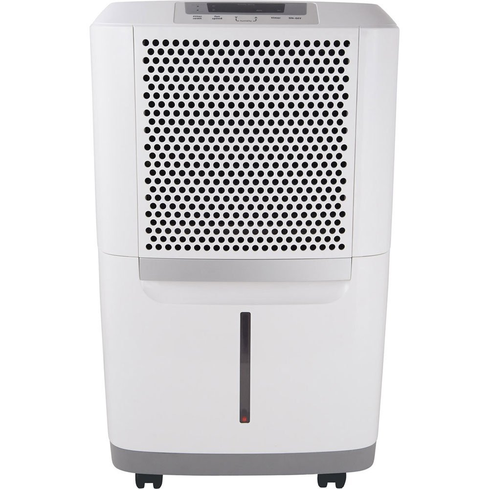 Frigidaire FAD704DWD Energy Star 70-pint Dehumidifier with Effortless Humidity Control, White (Certified Refurbished)