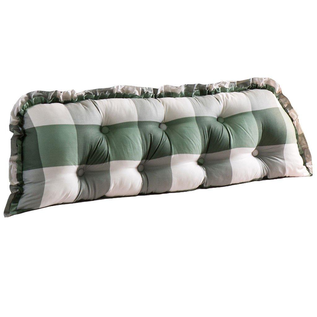ベッドクッションコットンピローソファのための大きな枕リムーバブルで洗える枕ダブルロング枕 (色 : B, サイズ さいず : 150cm) B07RK38XPT B 150cm
