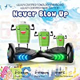 TOMOLOO Hoverboard with Bluetooth Speaker and LED