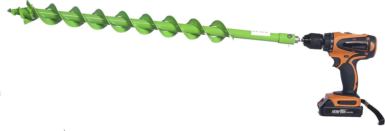WERHE Foret professionnel pour tari/ère 60 mm pile bien pr/écise double spirale carbure Hartmetall Eco couleur peinture avec adaptateur hexagonal