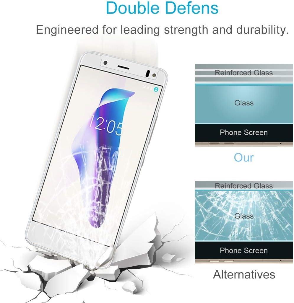 GzPuluz Glass Protector Film 50 PCS 0.26mm 9H 2.5D Tempered Glass Film for BQ Aquaris VS