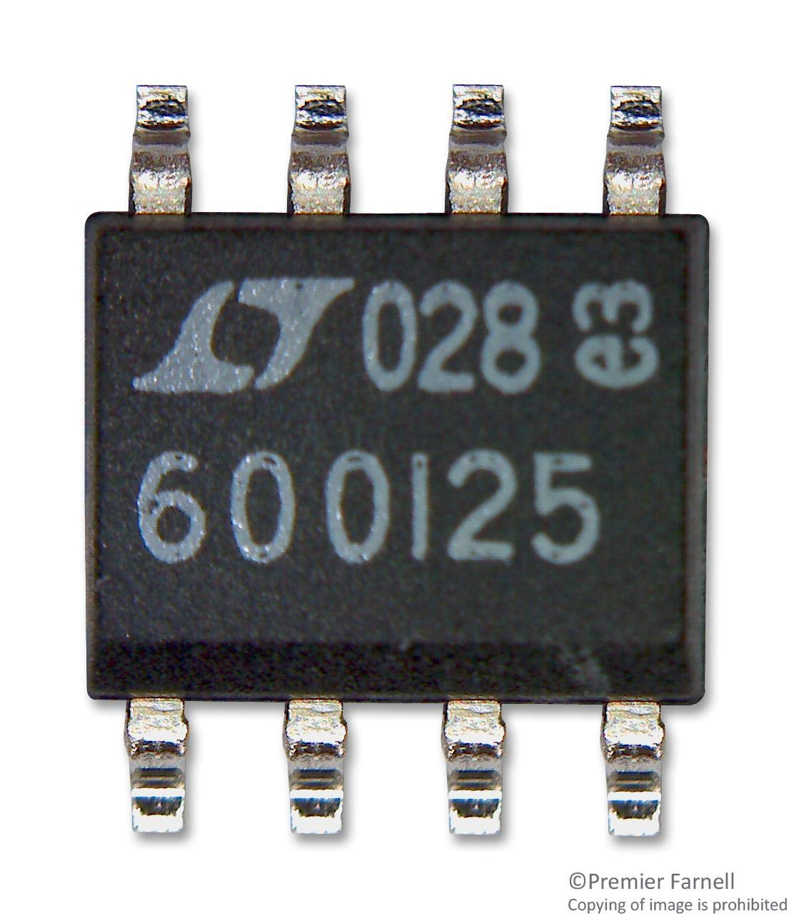 LT6600IS8-2.5#PBF - Differential Amplifier, Low Noise, 1 Amplifiers, 35 mV, 12.3 dB, 2.5 MHz, -40 ?C, 85 ?C (Pack of 5) (LT6600IS8-2.5#PBF)