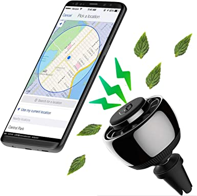 Soporte magnético para teléfono móvil, universal para rejilla de ...