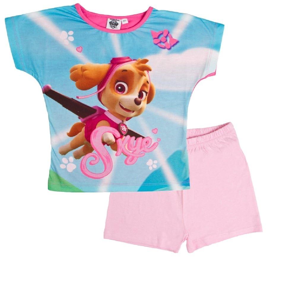 Koo-T Girls Pyjamas Ages 18m 2 3 4 5 6 7 8 9 10 Years Shortie Spring Summer 2 Piece Set My Little Pony Frozen Paw Patrol
