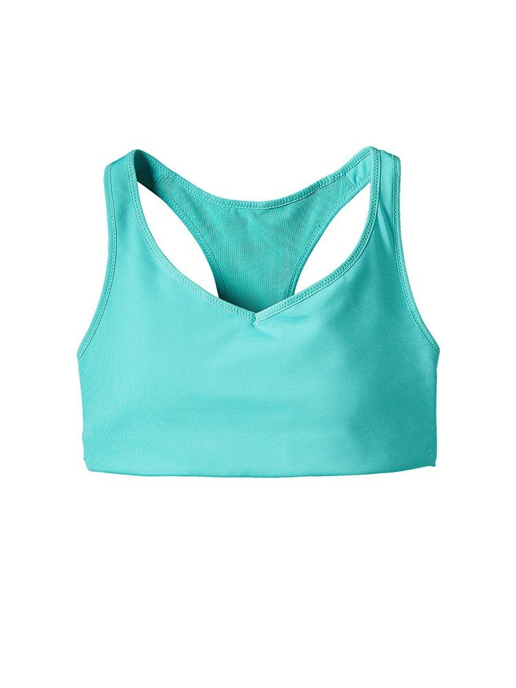 Patagonia Women's Centered Sports Bra (Small, Howling Turquoise) by Patagonia (Image #2)