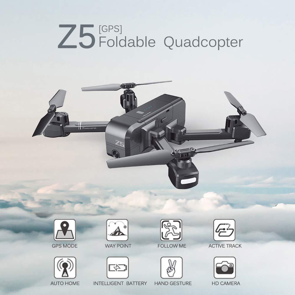 Goolsky SJ R / C Z5 1080P Cámara Gran Angular WiFi FPV Drone GPS ...