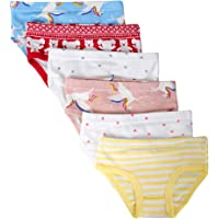Closecret Kids Series Baby Cotton Panties Little Girls' Assorted Briefs(Pack of 6)