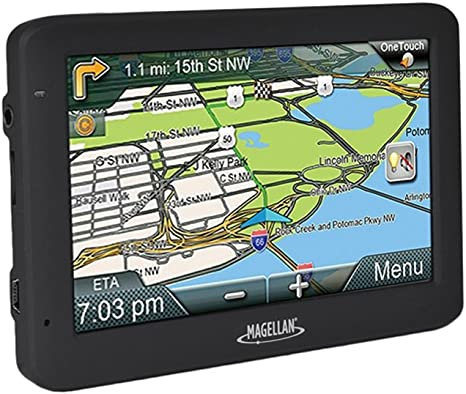"""Magellan RoadMate 5625-LM 5/"""" Touch Portable Vehicle Car GPS System"""