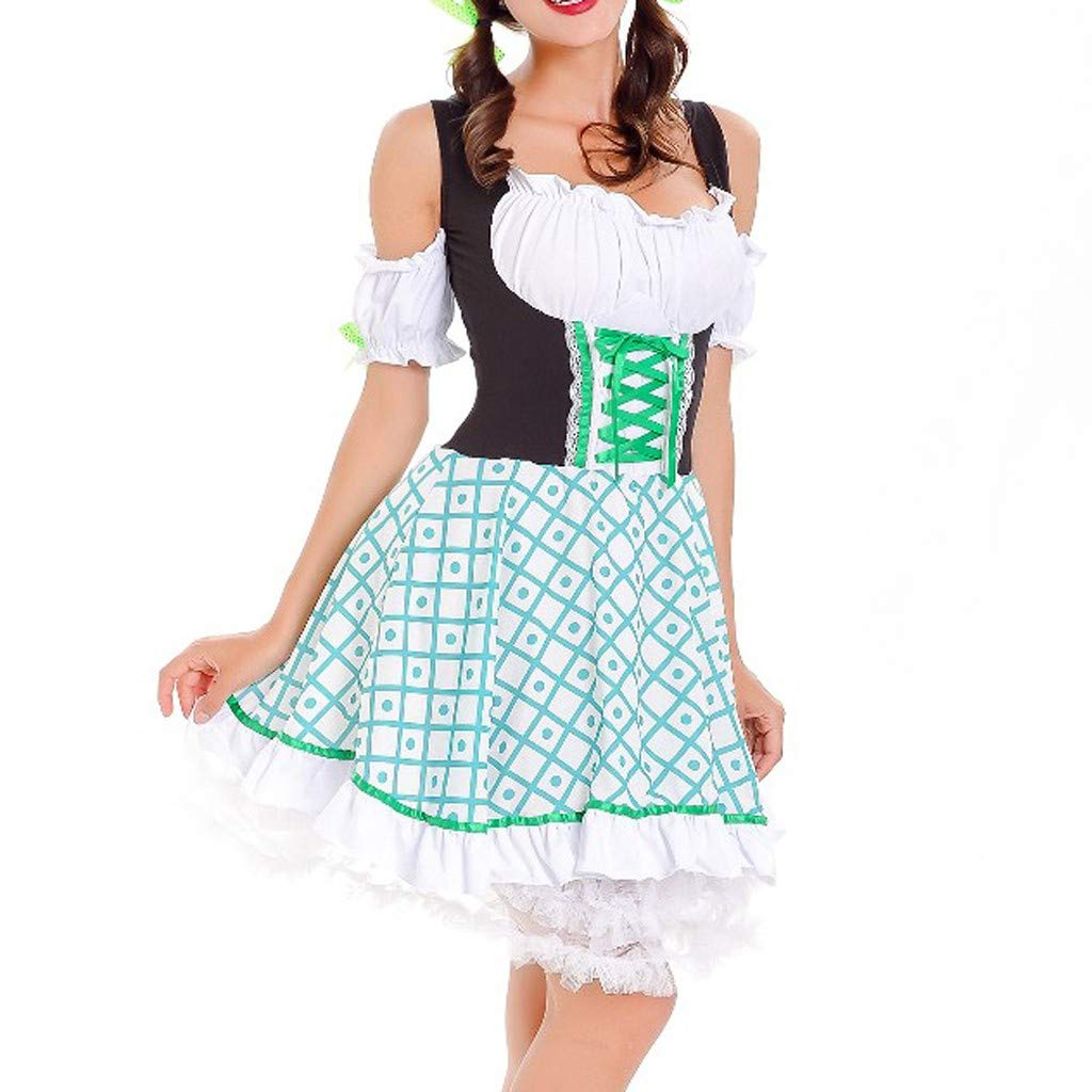 SMILEQ Vestido de Mujer Vintage Beer Festival bávara de ...