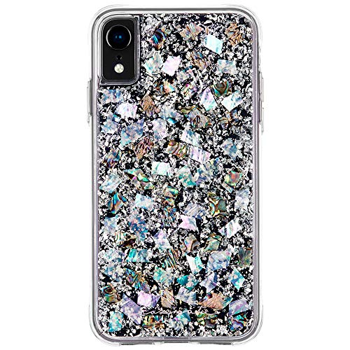 (Case-Mate - iPhone XR Case - KARAT - iPhone 6.1 - Mother of Pearl)