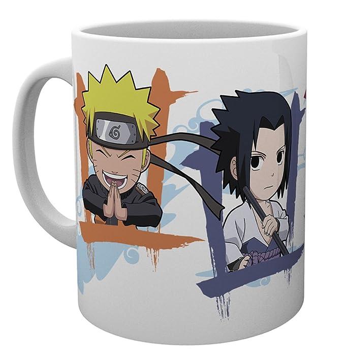 GB eye LTD, Naruto Shippuden, Chibi, Taza de Ceramica: Amazon.es ...