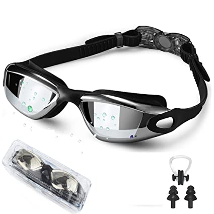 2ca6a8f0e11 Amazon.com   Waterproof Swim Goggle