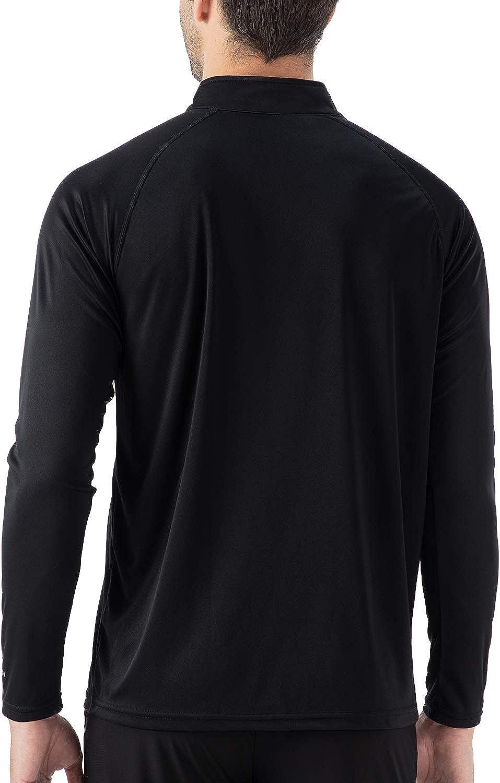 Naviskin Mens UPF 50 Half Zip Pullover Sun Protection Quick Dry Hiking Fishing