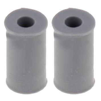 Spares2go plato accesorio de patas de apoyo para LG microondas GRILL horno (Pack de 2