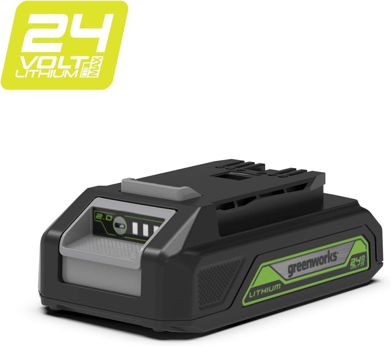 Batería de iones de litio de 24V y 2.0Ah de GREENWORKS - G24B2