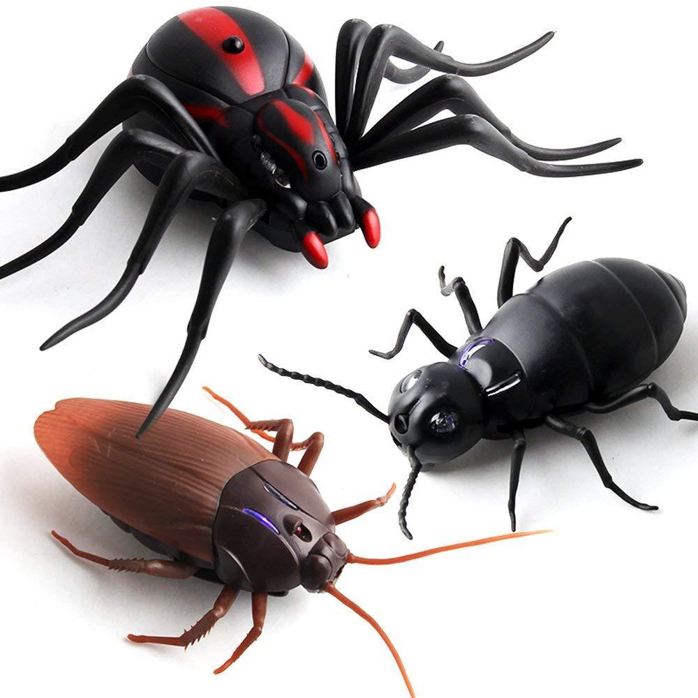Newin Star Infrarot Fernbedienung Insekt Spielzeug Simulation Ameisen Elektrische RC Spielzeug Erwachsene Streich Insekten 1 St/ück