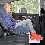 iBaste Autositz Baby Fußstütze Aufsatz Zubehör für Autokindersitz Fuß-Schemel Kinderschutz...