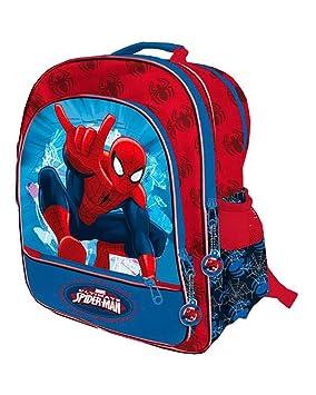 Spiderman Marvel Mochila 4 Cremalleras a/Carro 41x34x18,5 cms. Spid Color 0 Astro Europa AST0939: Amazon.es: Juguetes y juegos