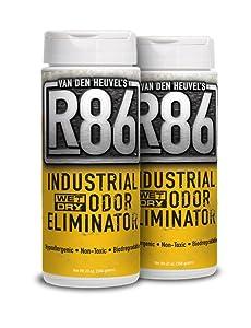 Van Den Heuvel's R86 Industrial Odor Eliminator - Ideal for Skunk Odor Removal, Pet Odor Removal and as an All Purpose Odor Neutralizer