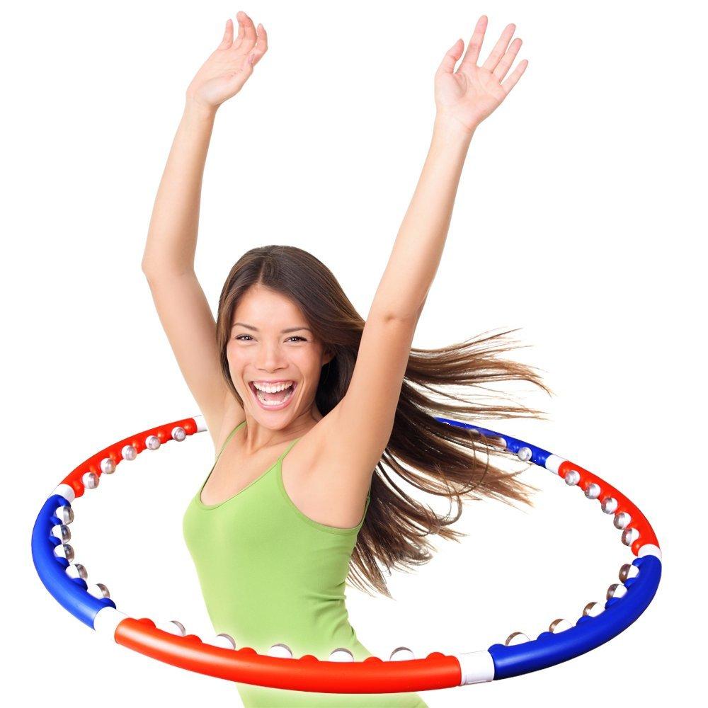 ScSports Hula Massage Reifen Bauchtrainer bei amazon kaufen