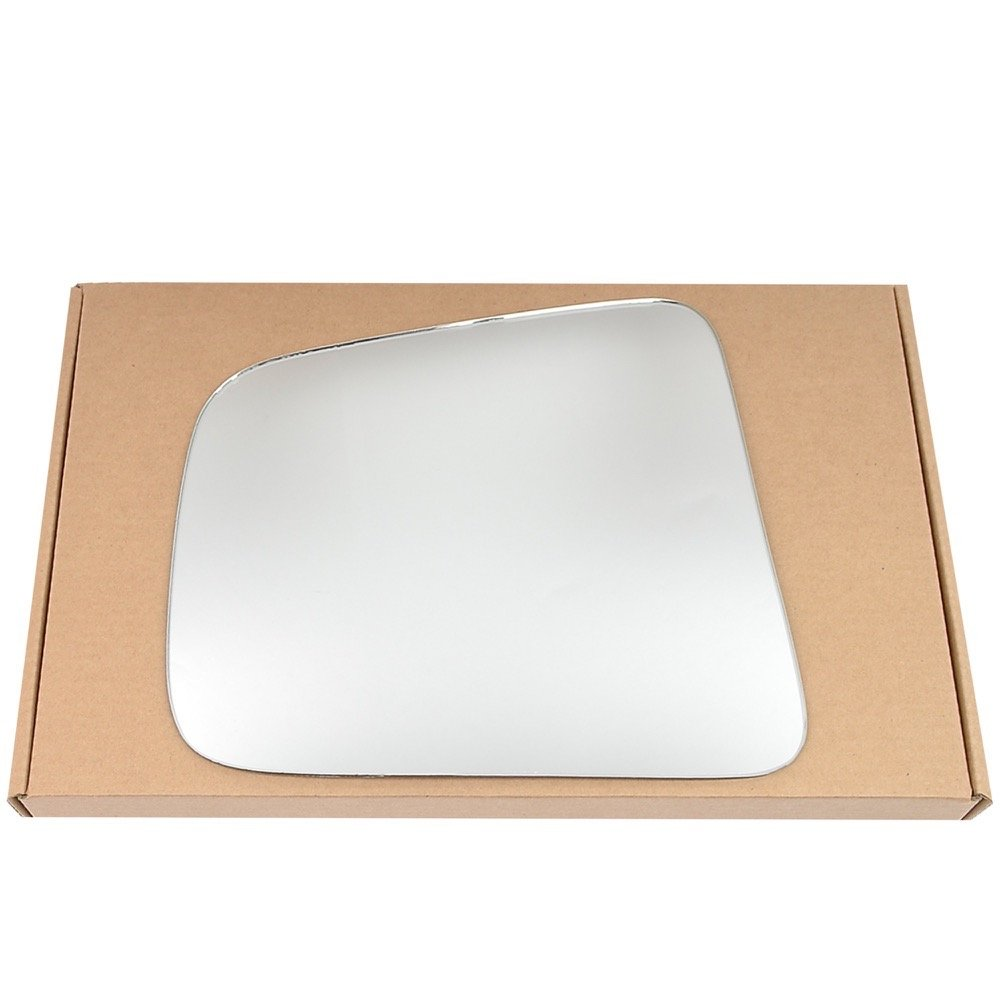 Left passegner side Silver Wing mirror glass