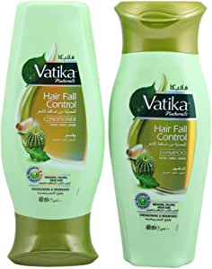 Vatika Hair Fall Control Shampoo and Conditioner Value Pack
