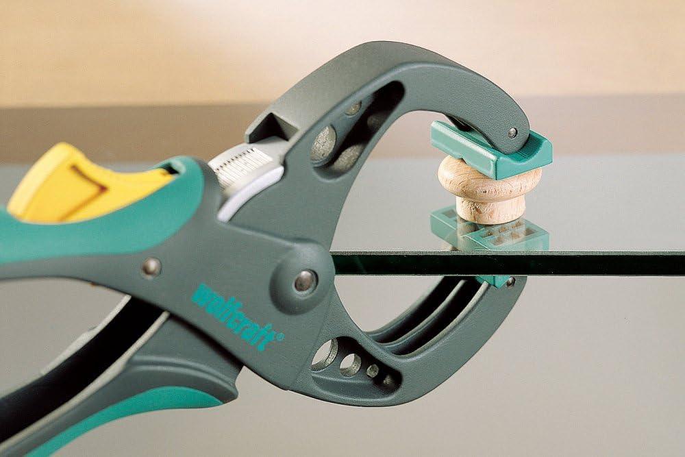 Pince de serrage /à cliquet /à serrage rapide de type F multifonction pour charpentier Outil de charpentier serr/é Pi/èce de travail bricolage Gadget pour tenir et fixer la pi/èce /à travail