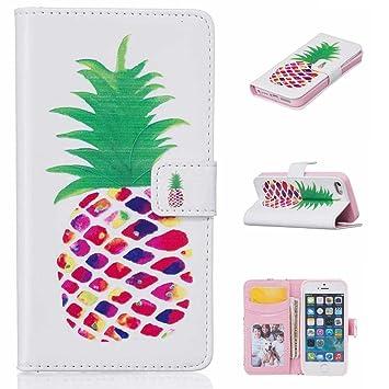 15922a5133 Amazon | iPhone SE/iPhone 5 / 5s ケース 手帳型ケース, UNEXTATI PU ...